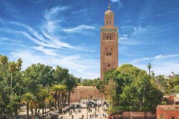 Excursion à terre à Casablanca: visite privée de Marrakech