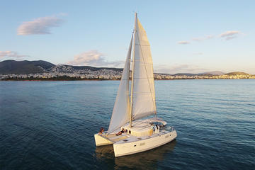 Luxury Catamaran Cruise from Athens with Traditional Greek Meal and...