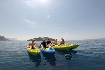 Kayaking Dubrovnik to Lokrum Island