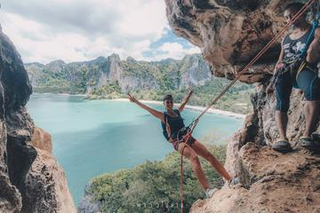 Full-Day Private Rock Climbing at...