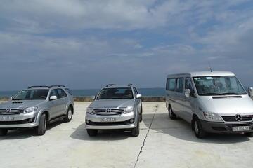 専用車両による到着送迎:ダナン空港からハノイ市内のホテルへ