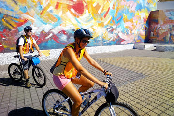 Circuit historique et culturel du Salvador en vélo à Santa Tecla