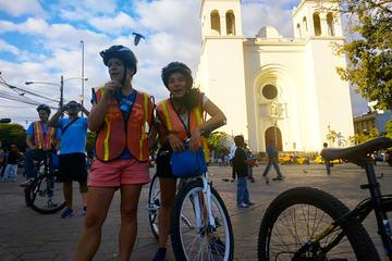 Excursão de bicicleta histórica em San Salvador