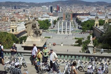 Visite privée des points forts de Barcelone en vélo électrique