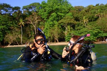 Aventura de mergulho no Panamá para iniciantes