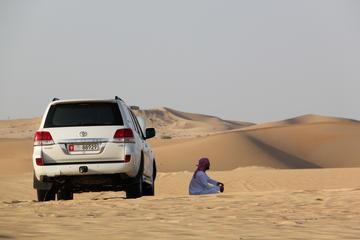 Abu Dhabi Desert Safari and Bedouin Camp Half Day Trip