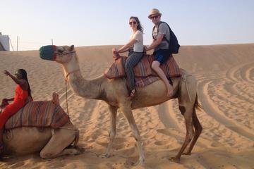 Safari en soirée dans le désert d'Abou Dhabi avec danse du ventre...