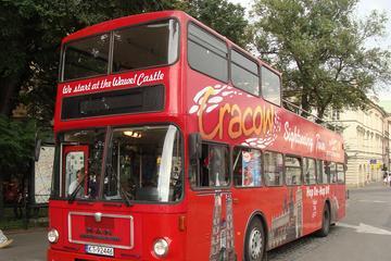 Circuit touristique en bus à arrêts multiples à Cracovie