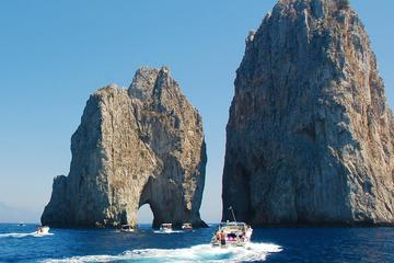 Capri Deluxe Small Group Shared Tour from Naples