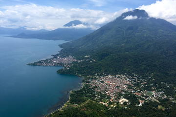 Indian Nose Peak and Lake Atitlan...