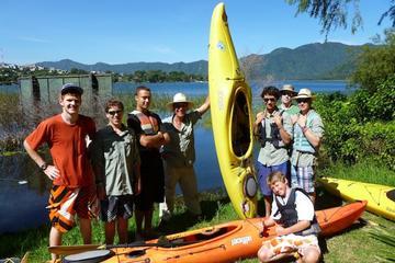 Paquete de aventura de 2 días de kayak y caminata desde Antigua