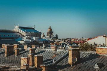 Excursão privada a terraço em São Petersburgo com almoço romântico...