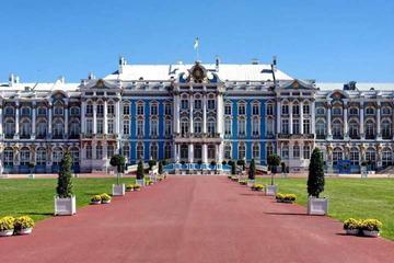 Omvisning i Katarina-palasset og parken i Tsarskoje Selo i St...
