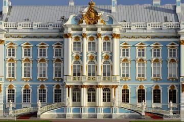 St Petersburg: Privater Tagesausflug zum Peterhof und Katharinenpalast