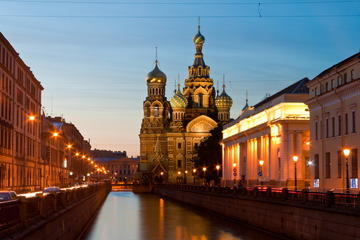 Half-Day Private Tour: Church of the Savior on Spilled Blood and...