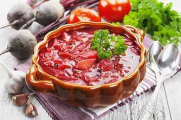 Privat matlagingskurs: borsjtsj og biff stroganoff i St. Petersburg