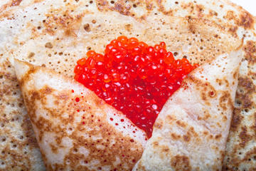 Private Cooking Class: Russian traditional Blini with red caviar and...