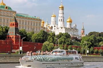 Tour privato: tour della città di Mosca e crociera panoramica sul