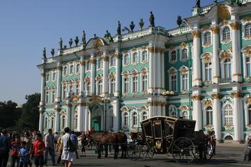 Excursão a pé pela cidade de São Petersburgo e Museu de Hermitage