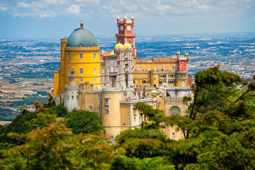 Delad rundtur till Sintra från Lissabon med inträde till slottet Pena