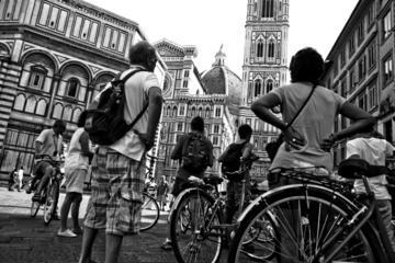 Excursão fotográfica de bicicleta em Florença