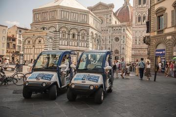 Florenz: Öko-Tour im elektrischen Golfwagen