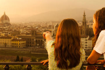 Private Minivan with a View and Uffizi in Florence Tour
