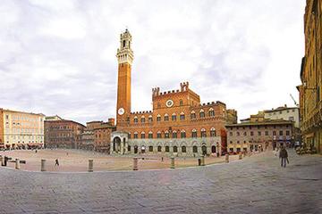 Shore excursion from Livorno to Siena and San Gimignano by private minivan