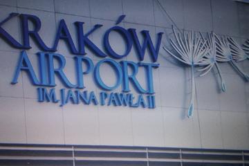 Vervoer bij aankomst vanaf het vliegveld van Krakau