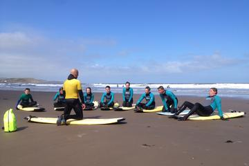 2-Hour Open Group Surfing Lesson in...
