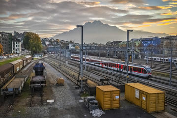 Lucerne Morning City Walk with a...