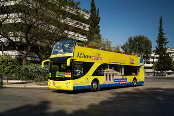 Hop-on hop-off tour naar Athene, Piraeus en Glyfada
