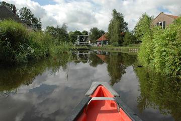 Promenade guidée en canoë au coucher du soleil et dîner au Waterland...