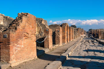 Full-Day Tour of Pompeii and Mount Vesuvius from Naples