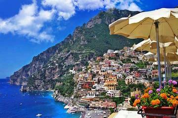 Ganztägige Tour: Amalfiküste und Pompeji von Sorrent aus