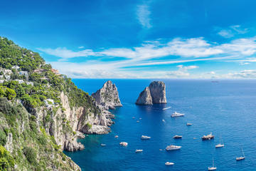 Pompeii and Capri Tour by Boat from