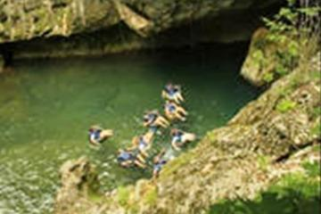 Cave Tubing and Jungle Zip Lining...