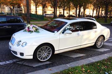 Dépôt dans les aéroports de Paris dans une luxueuse Bentley