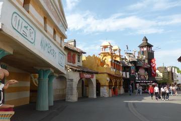 Private Transfer Charles de Gaulle Airport to Asterix Park
