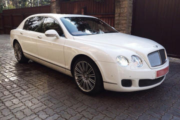 Service en Bentley avec chauffeur à Paris