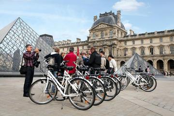 Tour en bicicleta turístico por París, Marais y sus secretos