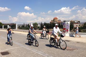 Excursão de bicicleta elétrica clássica em Atenas