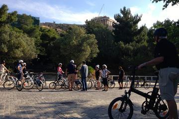Grand circuit en vélo électrique d'une demi-journée à Athènes
