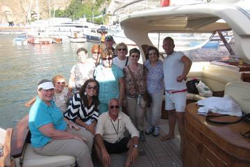Expérience en bateau sur la côte d'Amalfi: de Sorrente à Positano...
