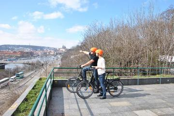 Small-Group Guided Prague Electric Bike Tour