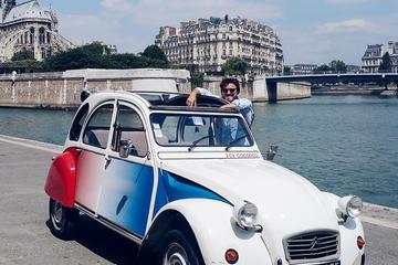 Tour privato di Parigi: tour romantico in 2CV