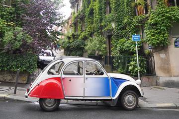 Visite de Paris en 2CV hors des...