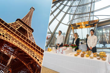 Eiffel Tower Summit and VIP Lounge Priority Access