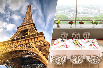 Eiffel Tower Summit Priority Access and Gourmet Tasting