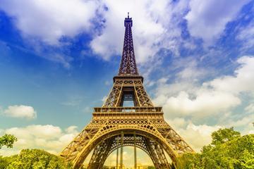 Snabbinträdesbiljett till Eiffeltornet med Virtual Reality-rundtur